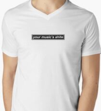 Your Music's Shite (Married With Children) - OASIS Band Tribute V-Neck T-Shirt