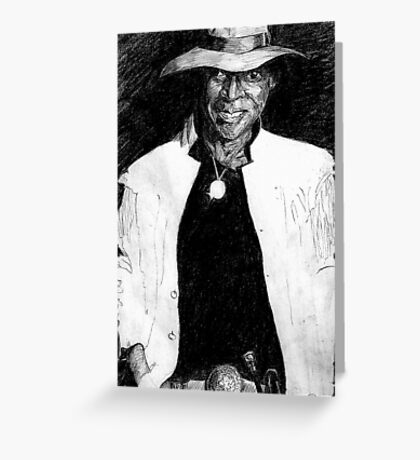 Miles D! Greeting Card
