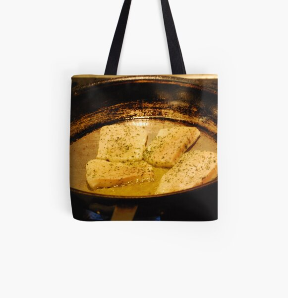 Culinary Science - Pan Searing All Over Print Tote Bag