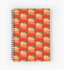 Pumpkin with vine Spiral Notebook