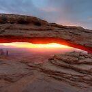 Mesa Arch Sunrise by Clayhaus