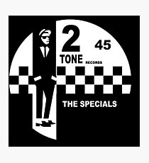 2 Tone Records - The Specials Label Photographic Print
