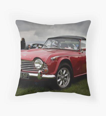 Triumph TR4 Throw Pillow