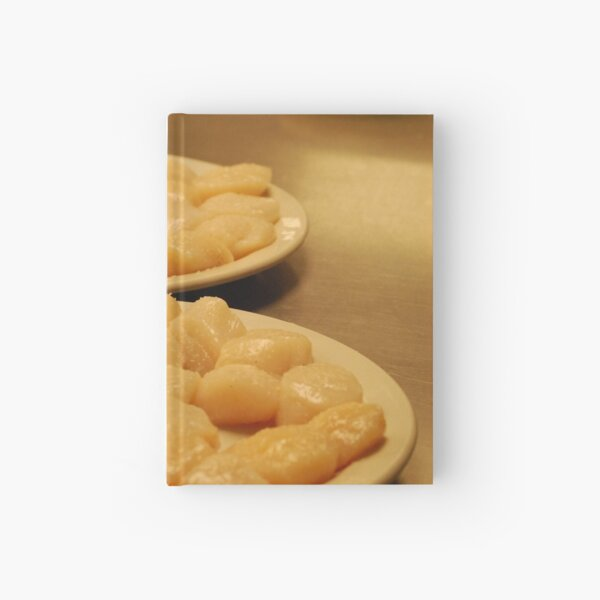 Scallops - Sear Me Hot! Sear Me Quick!  Hardcover Journal