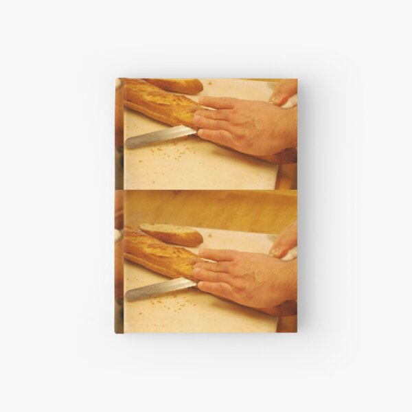 Culinary - French Baguette   Hardcover Journal