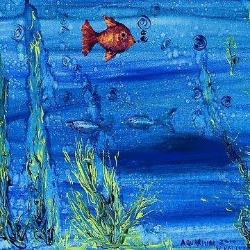 Red fish blue fish by rvalluzzi