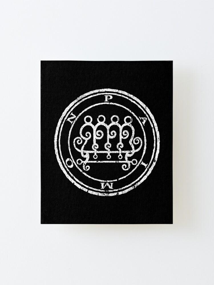 Alternate view of Paimon Seal Mounted Print