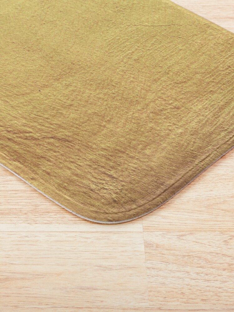Alternate view of Champagne Gold Metallic Foil Bath Mat