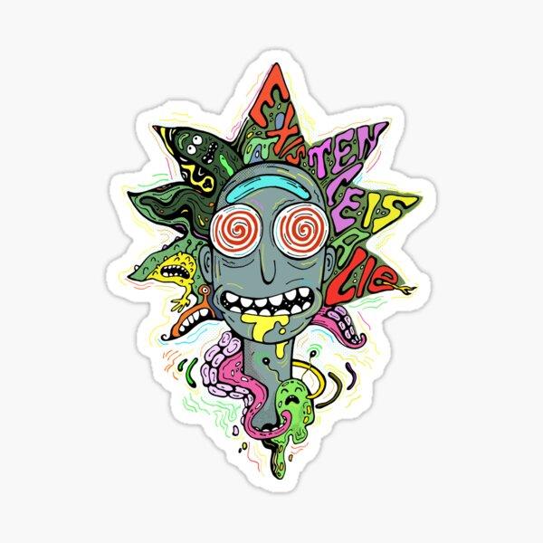 Acid Rick Sticker