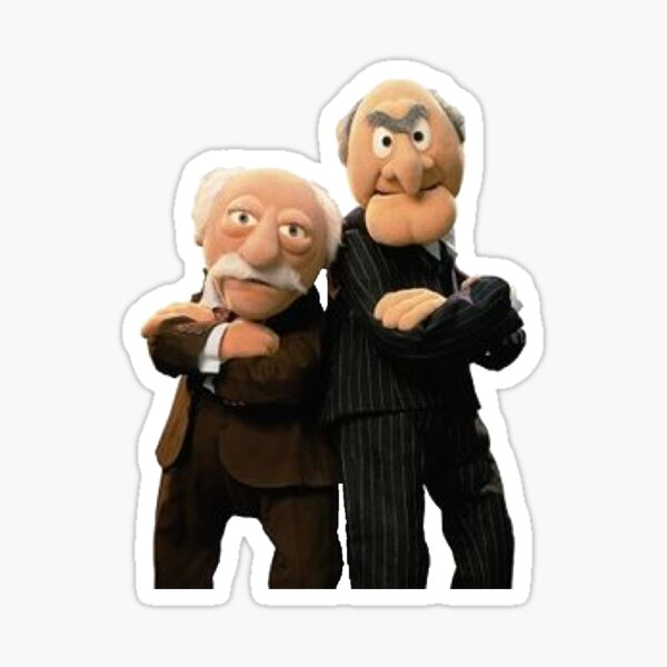 Statler and Waldorf - The Muppets Sticker