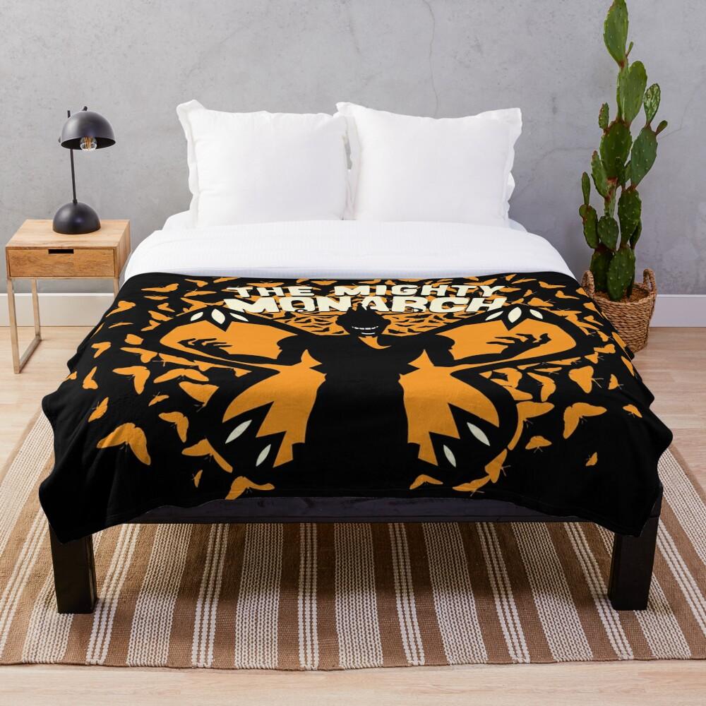 The Mighty Monarch - Venture Bros Team Monarch Throw Blanket