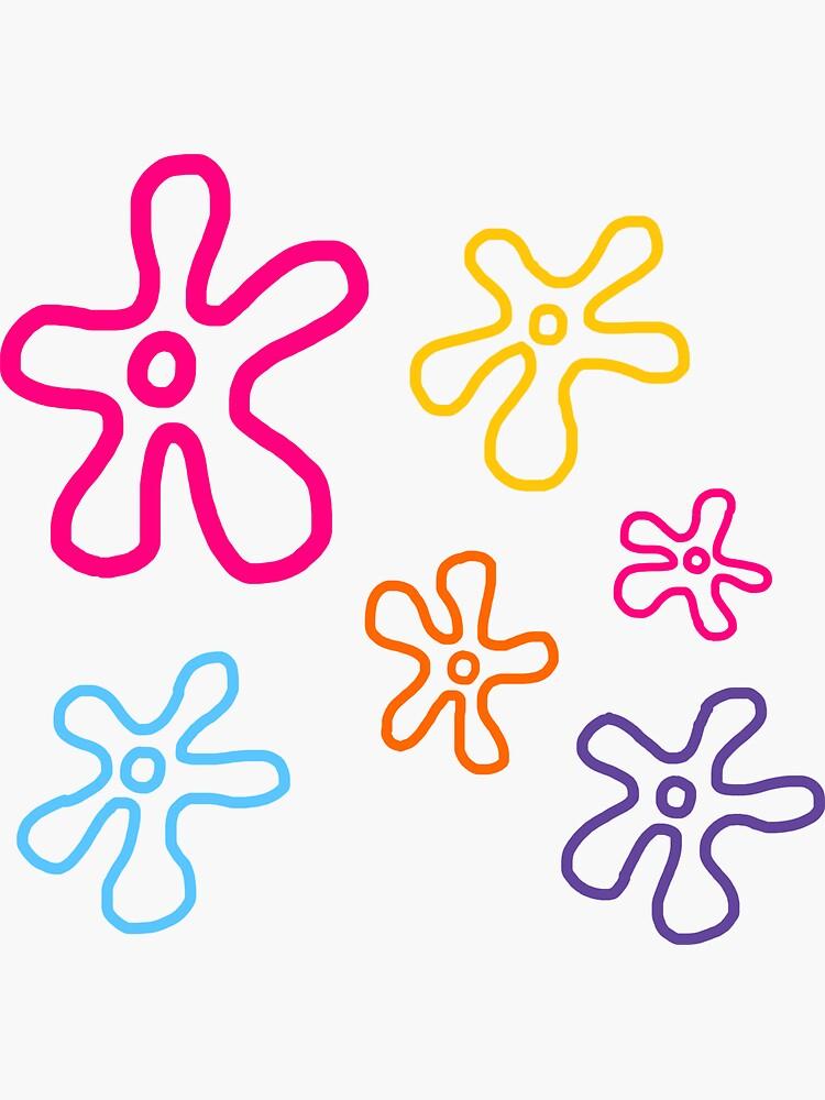 spongebob flowers by katelynstum
