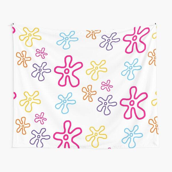 spongebob flowers Tapestry