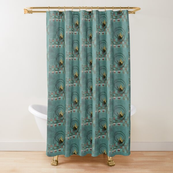 Simplification Shower Curtain