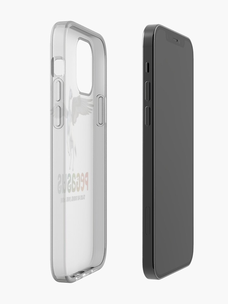 Alternate view of Pegasus - Take me under your wing iPhone Case & Cover