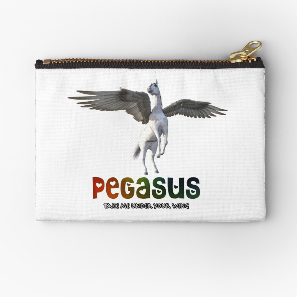 Pegasus - Take me under your wing Zipper Pouch