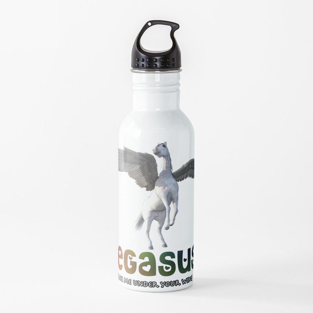 Pegasus - Take me under your wing Water Bottle