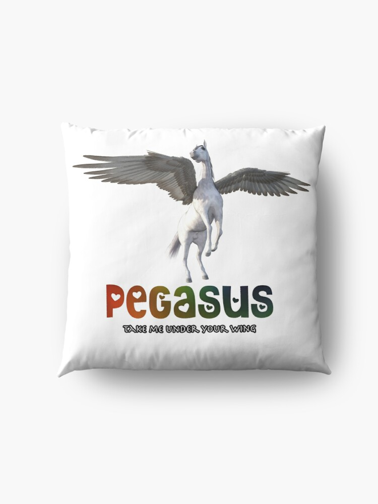 Alternate view of Pegasus - Take me under your wing Floor Pillow