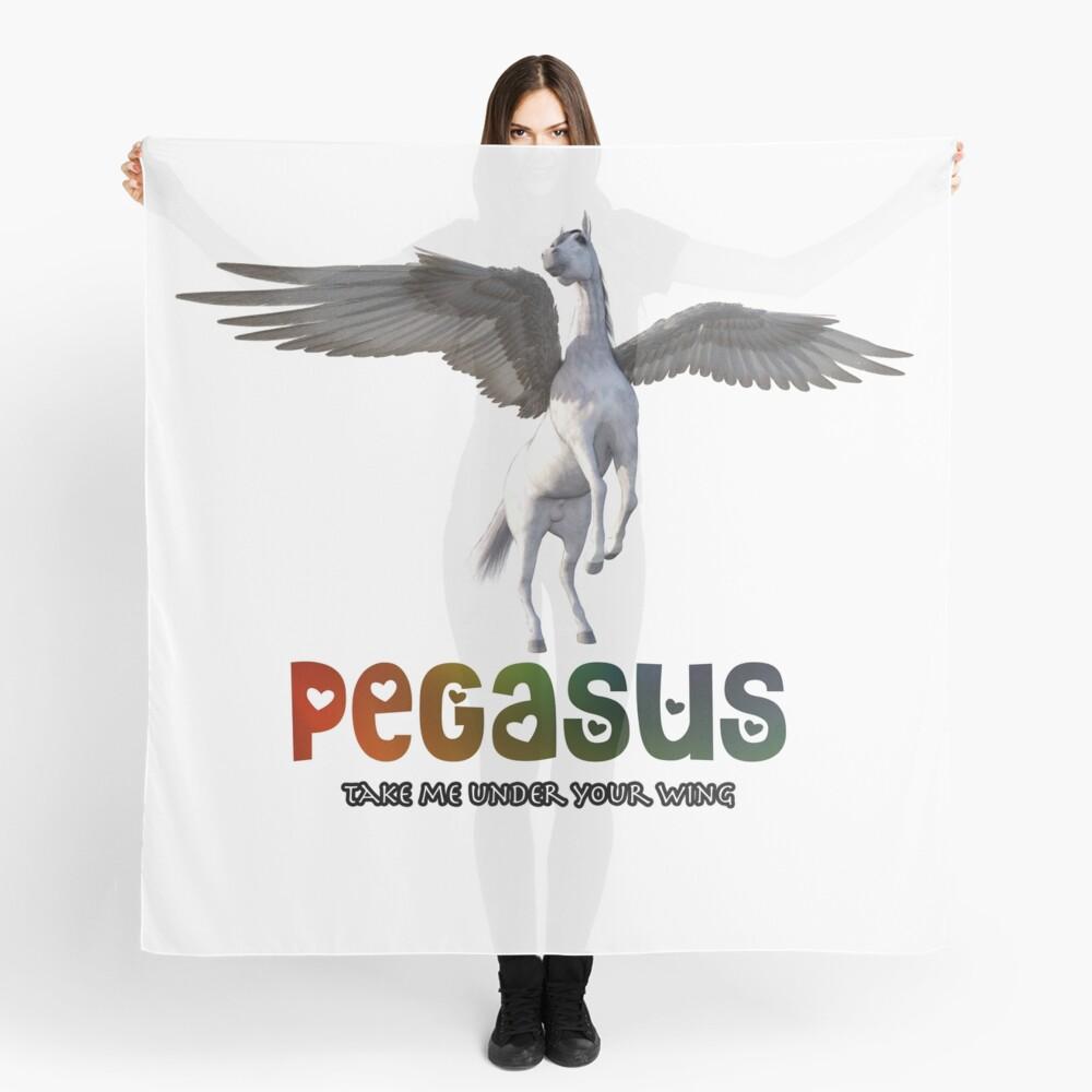 Pegasus - Take me under your wing Scarf