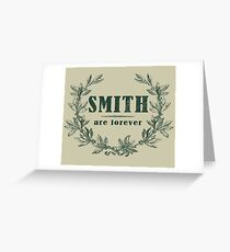 SURNAME - SMITH Greeting Card