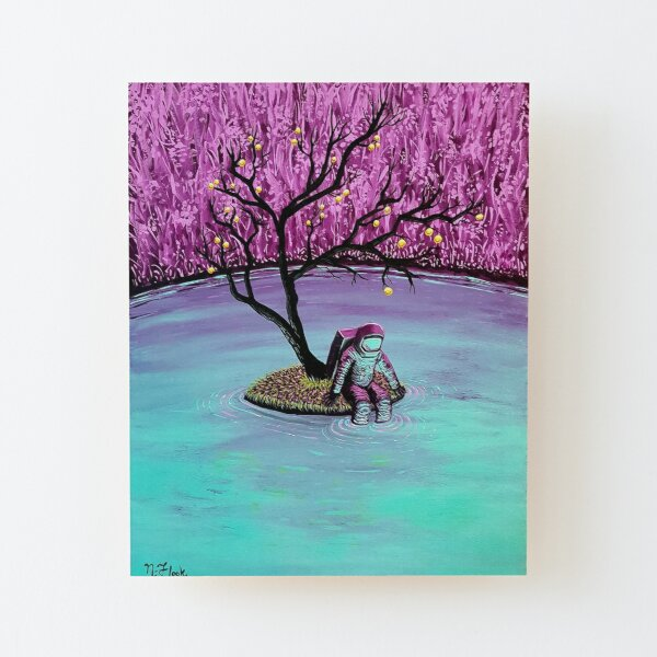 Dreamer Wood Mounted Print