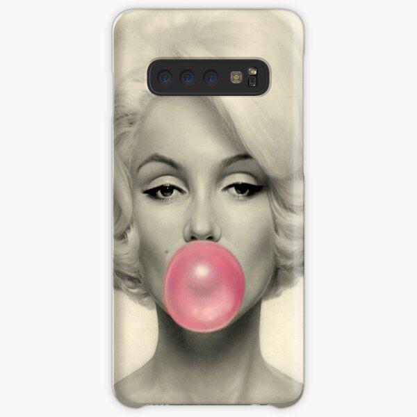 MARILYN MONROE : Bubble Blowing Print Samsung Galaxy Snap Case