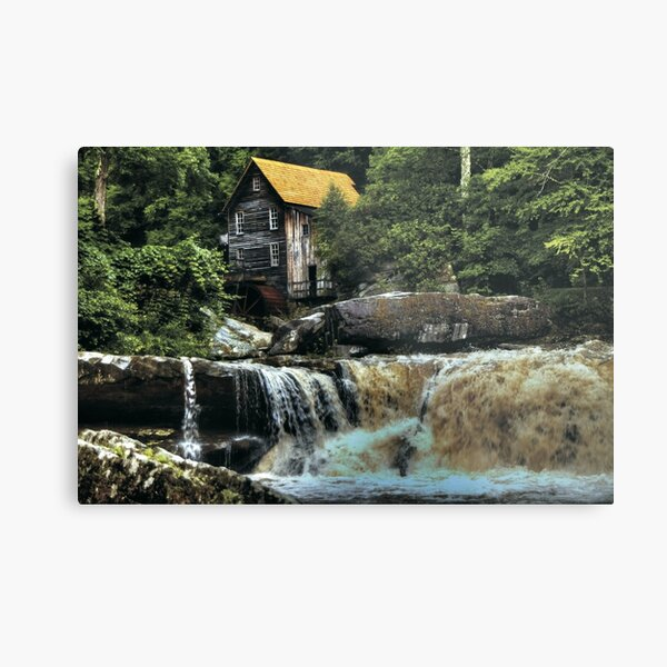 The Glade Creek Grist Mill  Metal Print