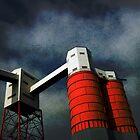 Railhead building, Avonmouth, Bristol, UK by David Carton
