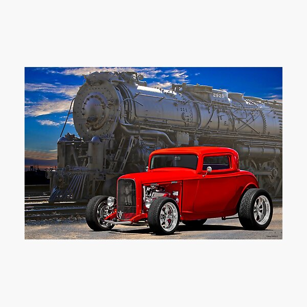 1932 Ford 'Loco Deuce' Coupe Photographic Print