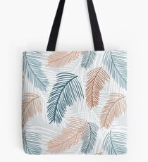 Tropical, feathery leaves Tote Bag