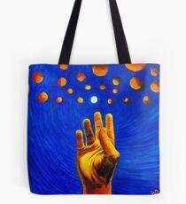 Reaching - Fine Art Painting Tote Bag