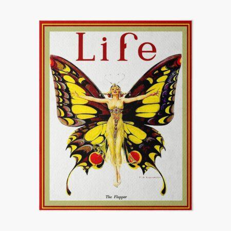 LIFE : Vintage 1922 Flapper Advertising Print Art Board Print