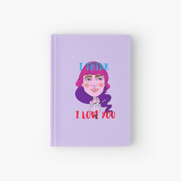 I think i love you Cuaderno de tapa dura