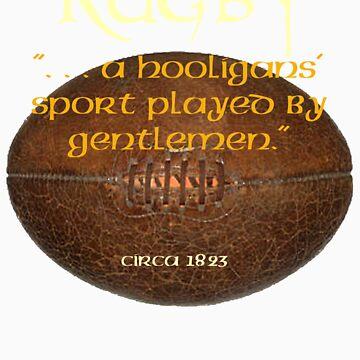 Rugby. . A Hooligans' Sport. . . by marsmercer