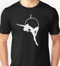 Lyra Aerialist Silhouette   Slim Fit T-Shirt