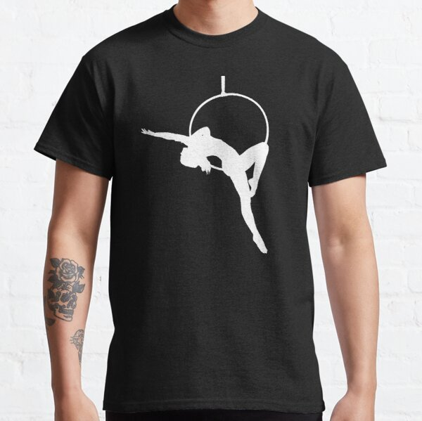 Lyra Aerialist Silhouette   Classic T-Shirt