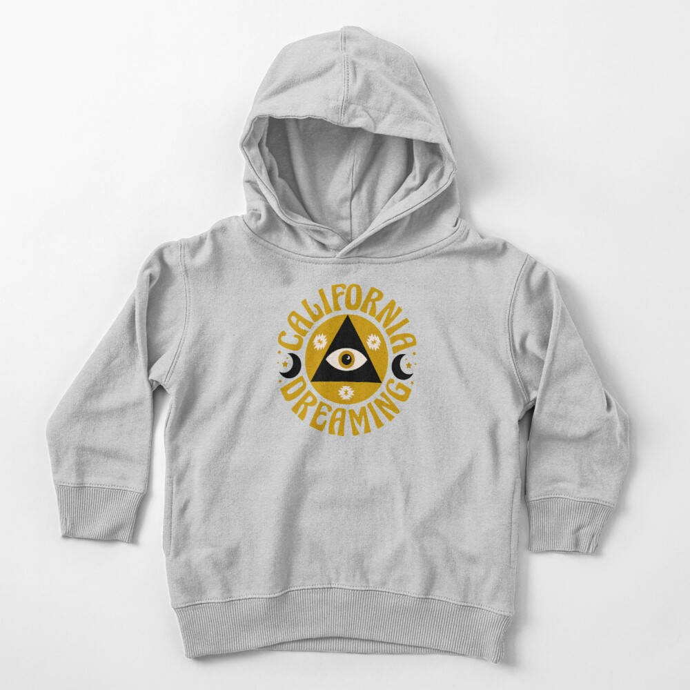 California Dreaming Toddler Pullover Hoodie
