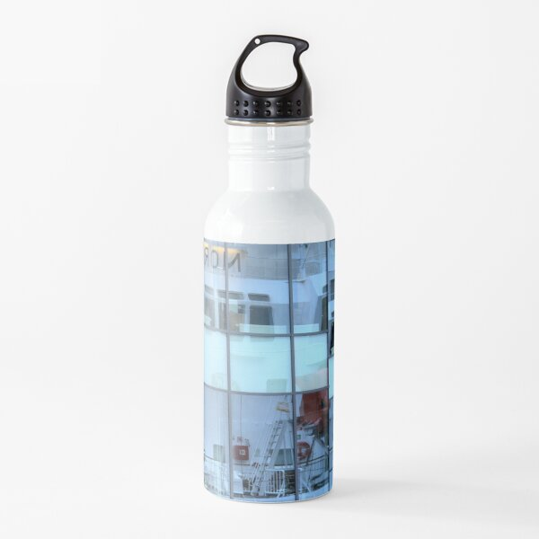 Reflecting on the MS Nordnorge Water Bottle