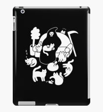 Death And His Cats iPad Case/Skin