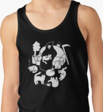 Death And His Cats Tank Top