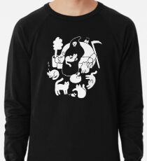 Death And His Cats Lightweight Sweatshirt