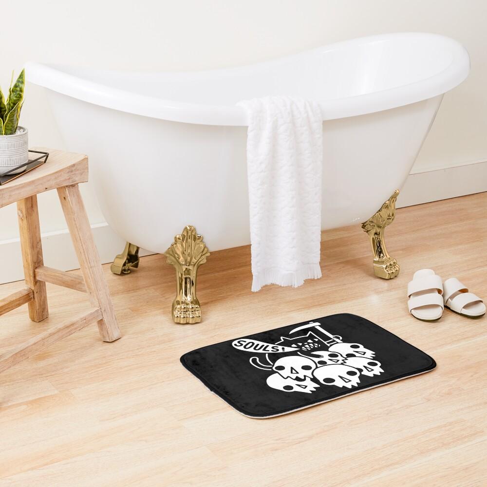 Cat Got Your Soul? Bath Mat