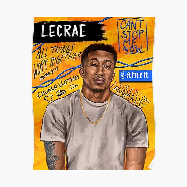 Lecrae Portrait  Poster