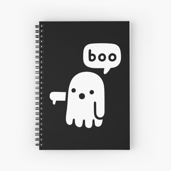 Ghost Of Disapproval Spiral Notebook