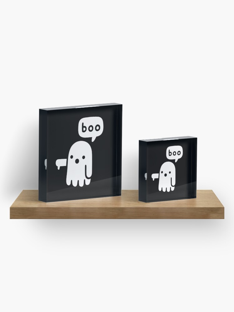 Alternate view of Ghost Of Disapproval Acrylic Block