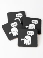 Ghost Of Disapproval Coasters