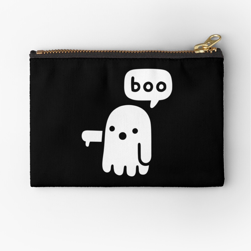 Ghost Of Disapproval Zipper Pouch