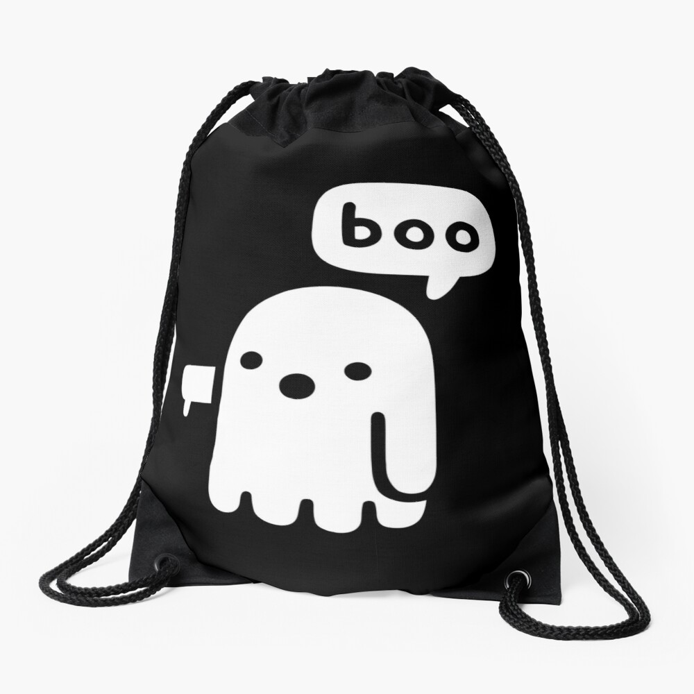 Ghost Of Disapproval Drawstring Bag