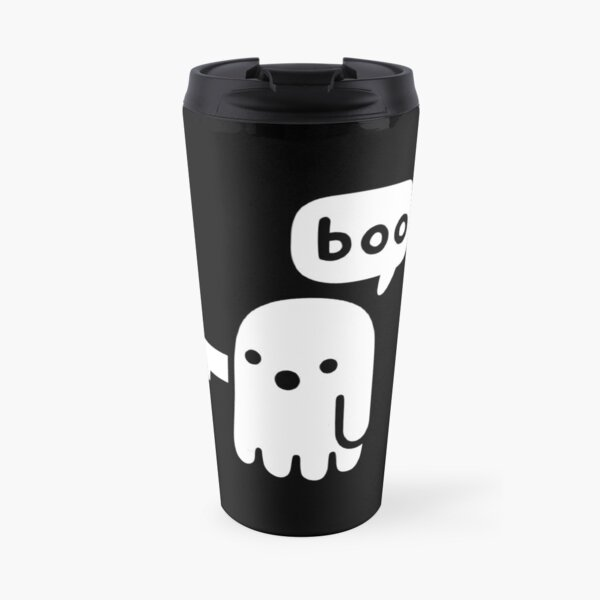Ghost Of Disapproval Travel Mug