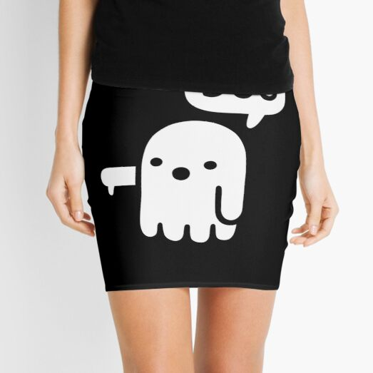 Ghost Of Disapproval Mini Skirt